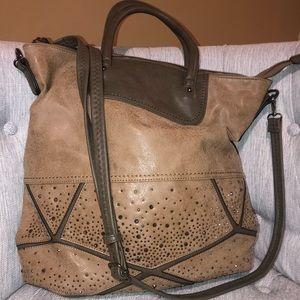 Large tote/cross body purse